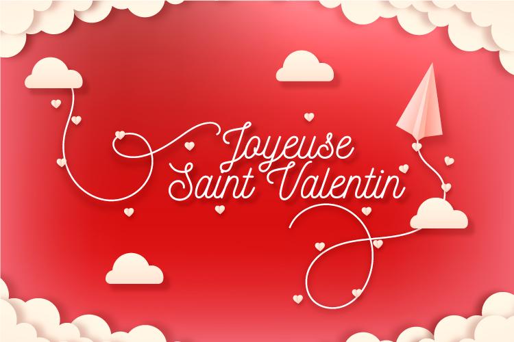 Ce 14 Février, c'est la Saint-Valentin !